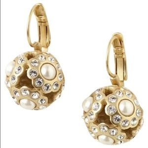Stella & Dot Pearl Bouquet Earrings